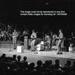 THE BEATLES AT FAIRFIELD HALLS, CROYDON, APRIL 25TH 1963; APR 1963; 144705288 stage front Beatles 25th April 1963 Fairfield Halls Croydon