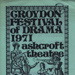 CROYDON FESTIVAL OF DRAMA; DEC 1971; 197112BK