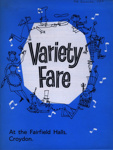 PROGRAMME VARIETY FARE MARGUERITE PATTERN MIKE AND BERNIE WINTERS; DEC 1962; 196212BE