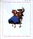 PROGRAMME THE GAY TYROLESE; NOV 1964; 196411BG