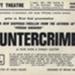 FLYER ASHCROFT THEATRE COUNTERCRIME WORLD PREMIER; OCT 1965; 196510BO