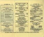 DIARY NOVEMBER 1963; NOV 1963; 196311BA