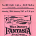 FLYER FILM FANTASIA WALK DISNEY; JAN 1967; 196701BG