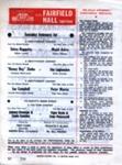 PROGRAMME WRESTLING IVAN PENZECOFT HONEY BOY ZIMBA BRIAN GLOVER; FEB 1966; 196602BK