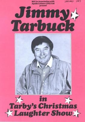 PROGRAMME COMEDY JIMMY TARBUCK; JAN 1987; 198701FA