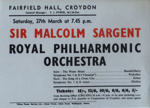 FLYER CLASSICAL ROYAL PHILHARMONIC ORCHESTRA MALCOLM SARGENT; MAR 1965; 196503BM