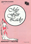 MY FAIR LADY - THEATRE; NOV 1989; 198911MA