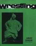 PROGRAMME WRESTLING PAKISTAN ARGIT SINGH; MAR 1970; 197003BE