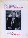 PROGRAMME THE BRITISH CONCERT ORCHESTRA; APR 1963; 196304BM