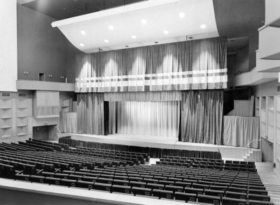 PHOTO FAIRFIELD HALLS CONCERT HALL; NOV 1962; 196211HT