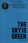 PROGRAMME ASHCROFT THE SKY IS GREEN MAURICE DENHAM BRIAN GEAR; FEB 1963; 196302BM