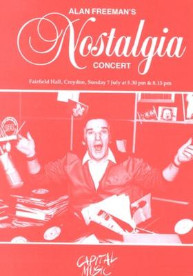 PROGRAMME MUSIC ALAN FREEMAN; JUL 1985; 198507FA
