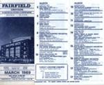 DIARY MARCH 1969; MAR 1969; 196903BB