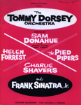 PROGRAMME TOMMY DORSEY ORCHESTRA FRANK SINATRA JR; JAN 1964; 196401BK