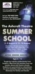 ASHCROFT THEATRE SUMMER SCHOOL - FLYER; AUG 2014; 201408NB