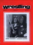 WRESTLING PROGRAMME KENDO NAGASAKI GORGEOUS GEORGE; JUL 1977; 197707BB