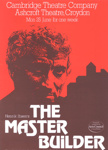 PROGRAMME THEATRE THE MASTER BUILDER; JUN 1979; 197906FA