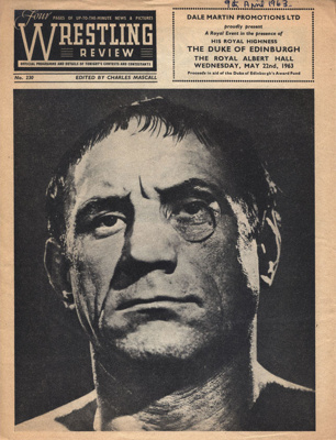PROGRAMME WRESTLING ADOLF KAISER; 196304BE