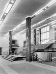 PHOTO FAIRFIELD HALLS FOYER; NOV 1962; 196211HM