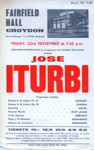 FLYER CLASSICAL JOSE ITURBI; NOV 1963; 196311BE