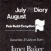 DAIRY MUSIC JANET BAKER; JUL 1976; 197607FA