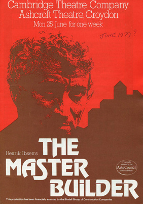 THE MASTER BUILDER PROGRAMME - THEATRE 