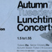 PROGRAMME AUTUMN LUNCHTIME CONCERTS; SEP 1976; 197609FA