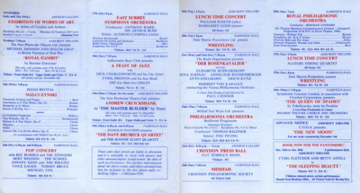 DIARY NOVEMBER 1962; NOV 1962; 196211CE