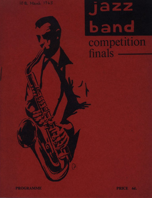 PROGRAMME JAZZ BAND COMPETITION FINALS; MAR 1963; 196303BE