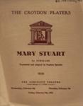 PROGRAMMER CROYDON PLAYERS MARY STUART SCHILLER; FEB 1963; 196302BC
