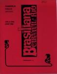 PROGRAMME BRASILIANA CARNIVAL DE RIO; JUN 1968; 196806BG