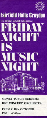 FLYER CLASSICAL BBC CONCERT OCHESTRA FRIDAY NIGHT IS MUSIC NIGHT; OCT 1968; 196810FA