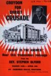 FLYER CROYDON FOR CHRIST CRUSADE; MAR 1963; 196303BS