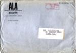 ENVELOPE INVITATION CLASSICAL TEST CONCERT; OCT 1962; 196210BA
