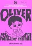 PROGRAMME MUSICAL OLIVER CROYDON OPERATIC AND DRAMATIC ASSOCIATION; OCT 1982; 198210FA