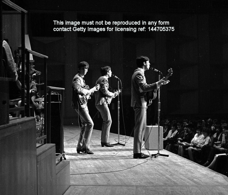 THE BEATLES AT FAIRFIELD HALLS CROYDON APRIL 25TH 1963 APR 144705375