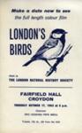 FLYER LONDONS BIRDS FILM; OCT 1963; 196310BG