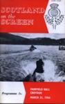 PROGRAMME SCOTLAND ON THE SCREEN; MAR 1966; 196603BC