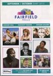 INFORMATION - DIARY - FAIRFIELD HALLS SEPTEMBER/OCTOBER; SEPT 2013; 201308MG