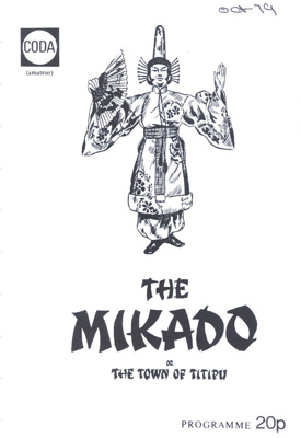PROGRAMME MUSIC THE MIKADO; OCT 1979; 197910FA