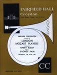 FLYER CLASSICAL LONDON MOZART PLAYERS; JUN 1963; 196306BE