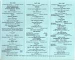 DIARY MAY 1964; MAY 1964; 196405BA