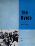 PROGRAMME THE BYRDS; AUG 1965; 196508BC
