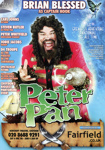 FLYER PANTO CHRISTMAS PETER PAN BRIAN BLESSED; DEC 2008; 200812FA