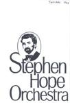 PROGRAMME MUSIC STEPHEN HOPE ORCHESTRA; JAN 1988; 198801FG