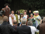 CAST PHOTO PANTO PRESS LAUNCH CHRISTMAS JACK AND THE BEANSTALK SEPT 2012 QUEENS GARDENS; SEP 2012