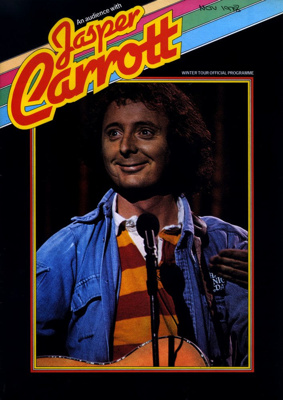 PROGRAMME JASPER CARROTT COMEDY; NOV 1978; 197811BB