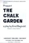 PROGRAMME CODA THE CHALK GARDEN; NOV 1965; 196511BM