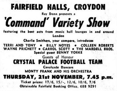 The Publand Show 1968; NOV 1968; 196811JA Command Variety Show