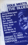 FLYER BLUES JIMMY WITHERSPOON GEORGE MELLY; MAY 1966; 196605BE